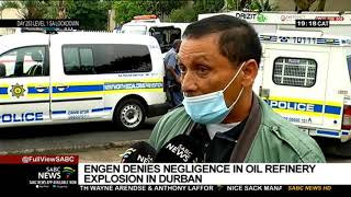 Seven people had to be hospitalised after an early-morning explosion and fire at oil refinery in durban. residents from surrounding areas fled their homes...