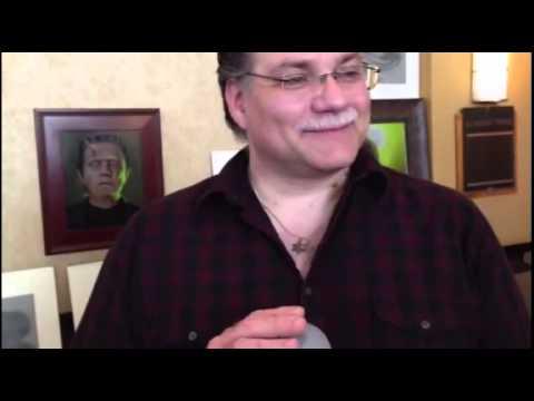 Daniel Horne accepts Rondo Award as Best Artist