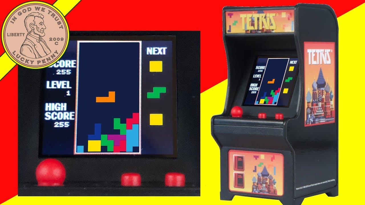 Tiny Tetris Arcade Game World S Smallest