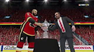 NHL 19 - Calgary Flames Western Conference Trophy Celebration