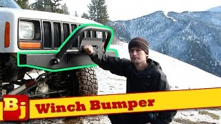 Winch Bumper Install - Affordable Offroad