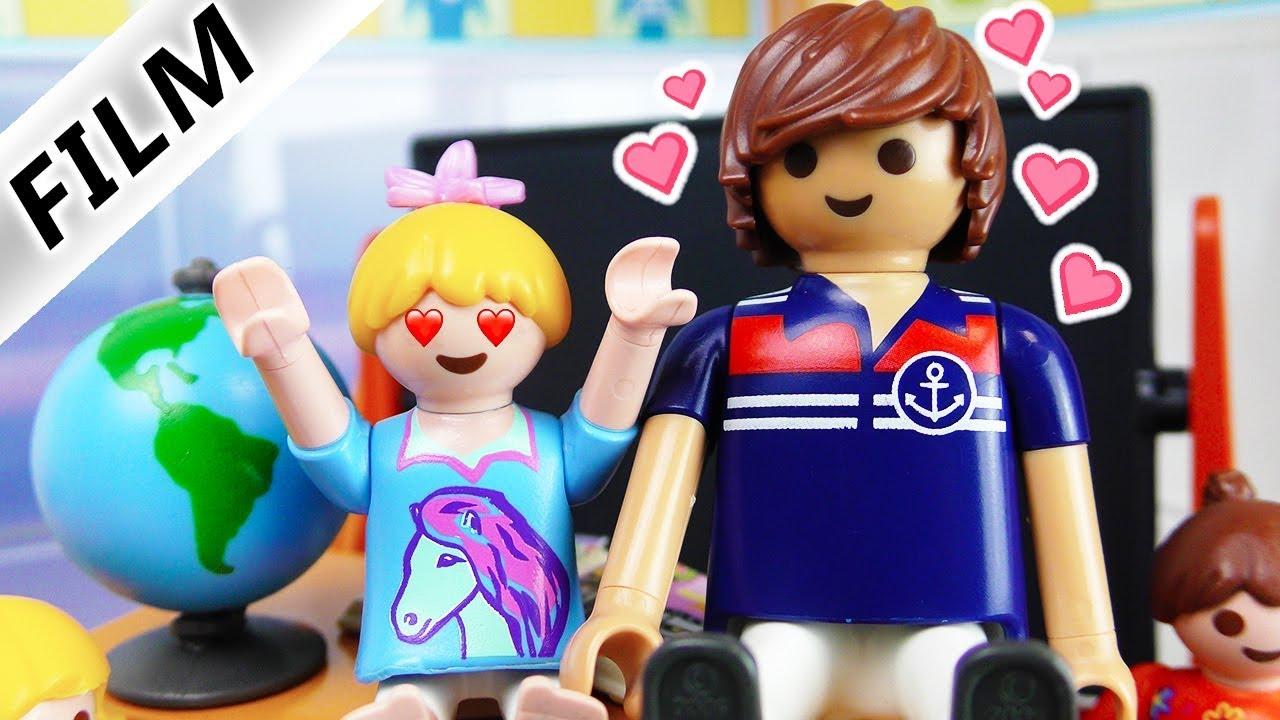 Playmobil Film Deutsch Hannah Verliebt Sich In Lehrer Liebe Auf