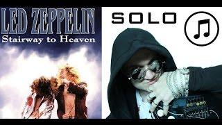 Как Играть Соло - Stairway to Heaven - Lesson - Solo - Pt I (ТЕКСТ) - Урок