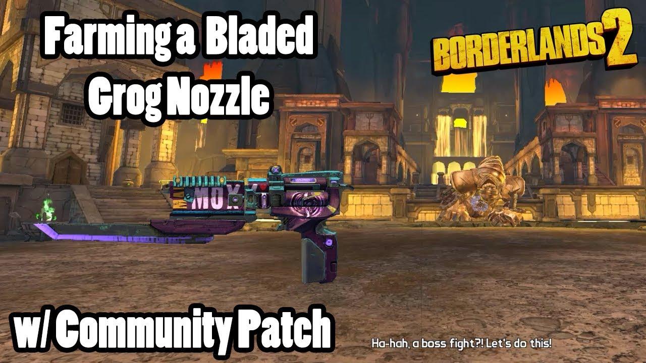Borderlands 2: Farming Gold Golem for Grog Nozzle