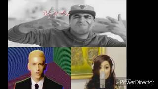 فتاة امريكية تتحدى Klay bbj & Eminem في سرعة الاغاني