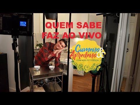 """""""CUMENO & APRENDENO"""" - Fazendo um Crème Brûlée ao vivo"""