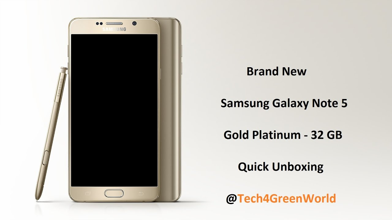 Gold platinum galaxy note 5 now available from t mobile android - Samsung Galaxy Note 5 N920 32gb Gold Platinum Unboxing