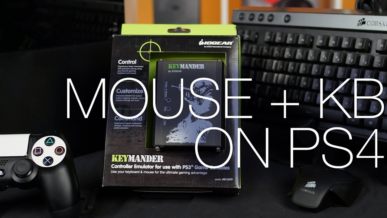 iogear keymander using a mouse and keyboard on a ps4 ft setup guide youtube. Black Bedroom Furniture Sets. Home Design Ideas