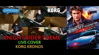 Knight Rider theme - cover made on Korg Kronos by Dvorkys ( space4keys team )