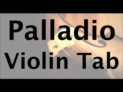 Learn Palladio on Violin - How to Play Tutorial