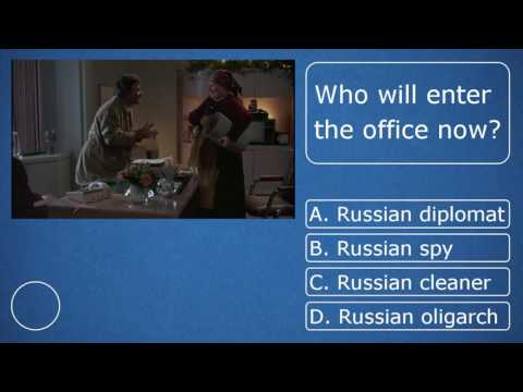 Lieutenant Columbo meet russian spy? - video quiz 1