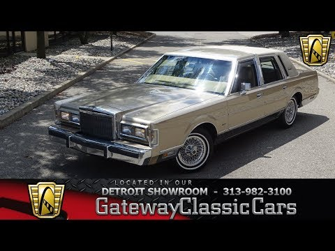 1988 Lincoln Town Car Signature Stock # 973-DET