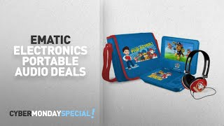 Walmart Top Cyber Monday Ematic Electronics Portable Audio Deals: Paw Patrol 7