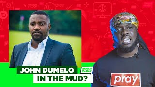 Ghana Elections: John Dumelo In The Mud?
