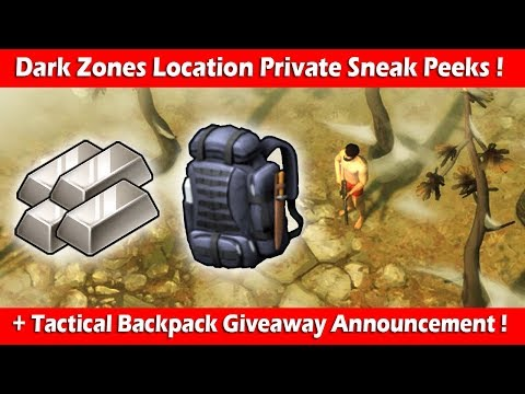 Dark Zones Private Sneak Peeks + Tactical Backpack Giveaway! Last Day On Earth Survival