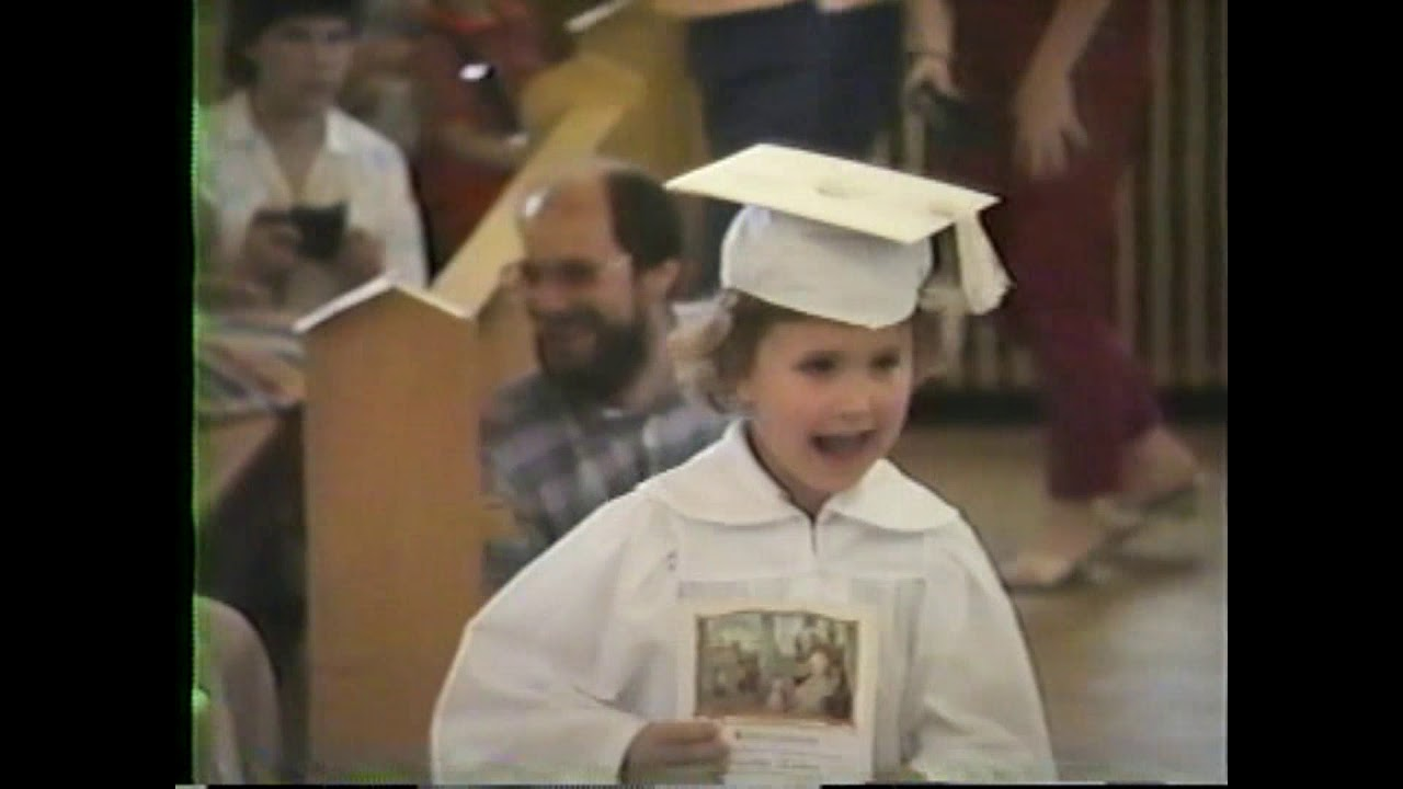 St. Mary's Kindergarten Graduation  6-13-87