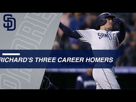 Padres pitcher Clayton Richard has three career HRs