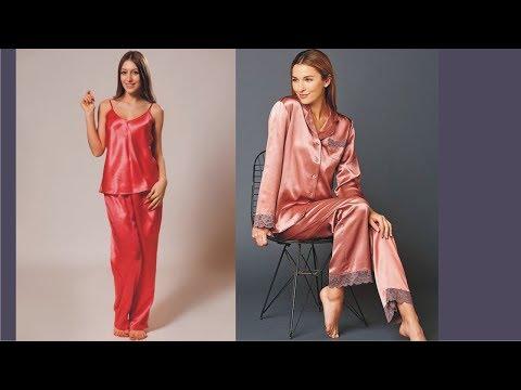 Elegant Womens Silk Pajamas Today