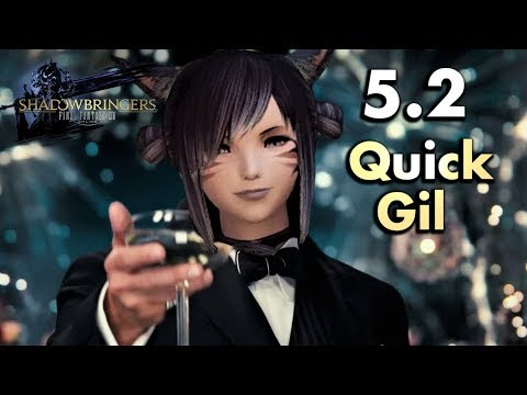 FFXIV - Quick 5.2 Gil-making Tips (No Crafting Required)
