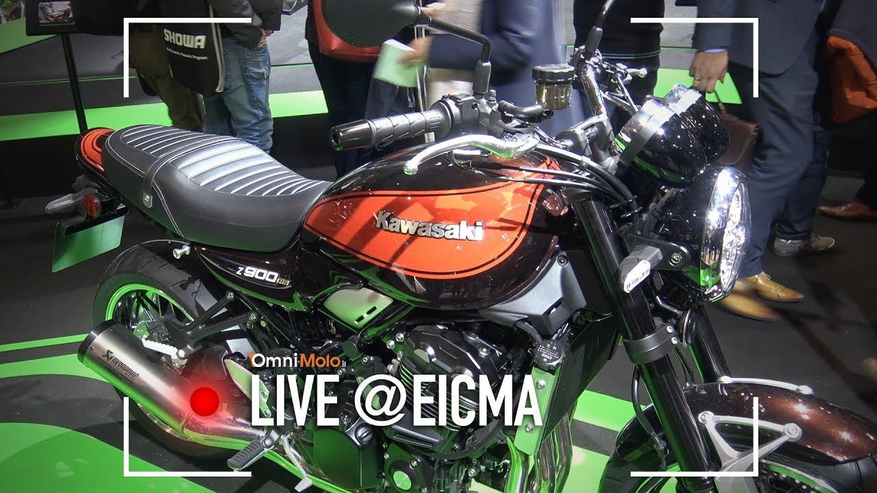 kawasaki z 900 rs eicma 2017 youtube. Black Bedroom Furniture Sets. Home Design Ideas