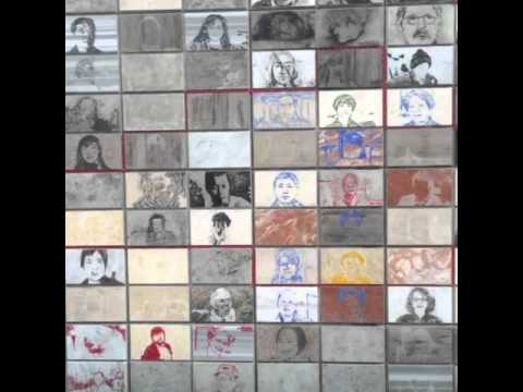Photo tiles for lepers and helpers at Sorokdo National Hos