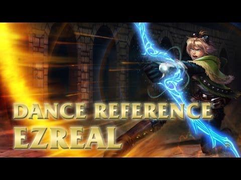 Haruhi - Ezreal Dance - League of Legends (LoL)