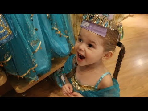 Thumbnail: THE ONLY PRINCESS DRESS SHE DOESN'T HAVE.. (TRIP TO THE DISNEY STORE!)