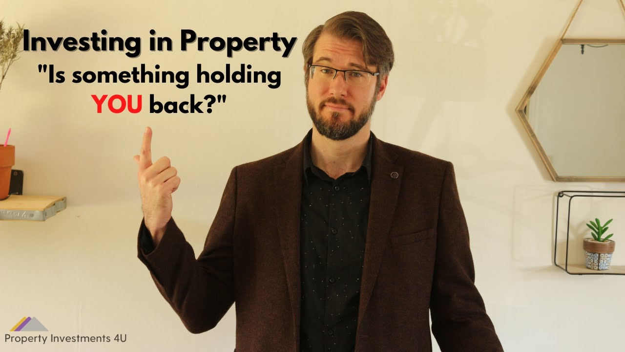 Things holding you back from investing in property?