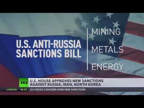 US House of Representatives approves new sanctions against Russia, Iran, N. Korea