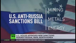 US House of Representatives approves new sanctions against Russia, Iran, N  Korea