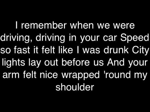 Michael Collings- Fast Car Wiv Lyrics