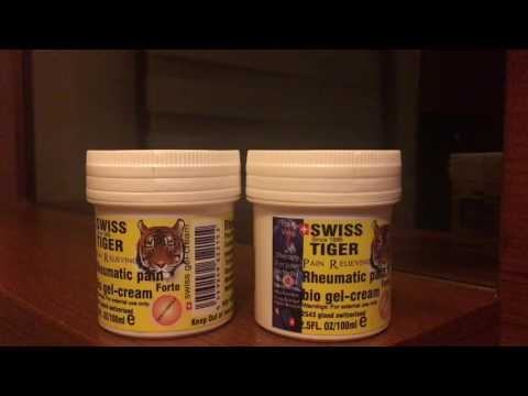 SWISS TIGER original bio gel cream switzerland