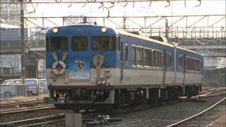 JR西日本 観光列車「清盛マリンビュー」 回送列車 広島~横川 2012.1