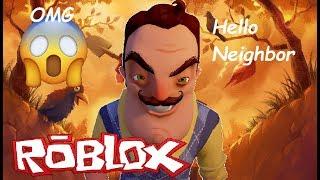 HELLO NEIGHBOR EN ROBLOX - Chepe 981