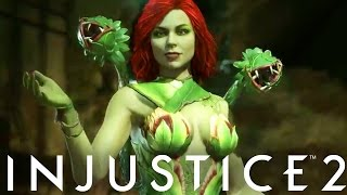 Injustice 2: Poison Ivy GAMEPLAY! Reveal! (Injustice Gods Among Us 2)