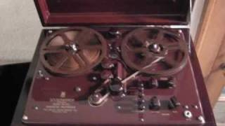 1947 Brush BK 401 Reel-to-Reel Tape Recorder