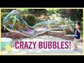PLAY | Crazy Bubbles w/ DIY Straw Wands!