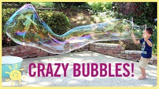 PLAY  Crazy Bubbles W D Y Straw Wands