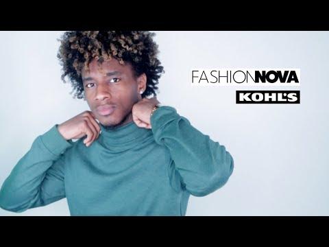 BLACK FRIDAY TRY ON HAUL 2018 (fashion nova men)