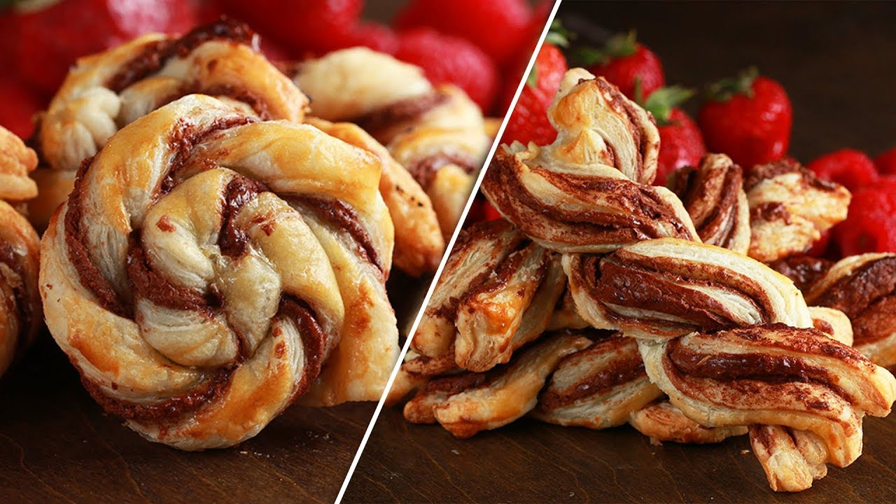 Puff Pastry Decorating 4 Ways