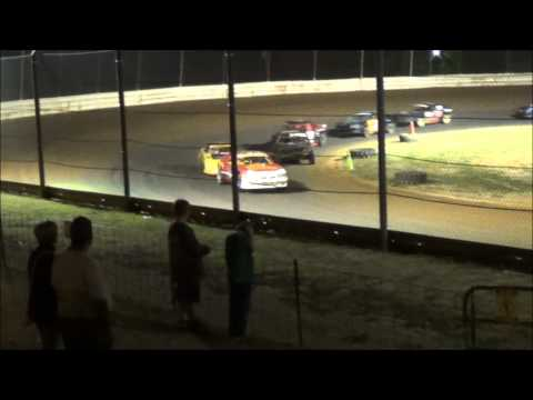 Doe Run Raceway Mini Stock Feature 8-28-15