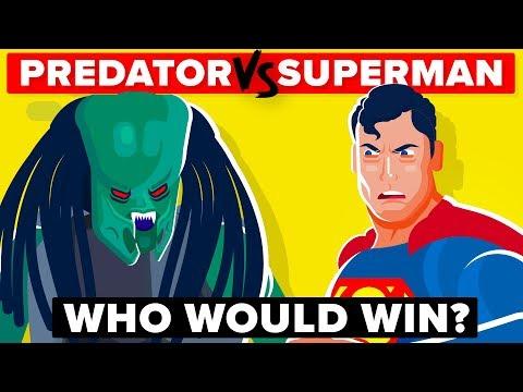 PREDATOR Vs SUPERMAN - Who Would Win In A Battle? | Predator Movie & Superman Movie