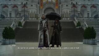 Final Fantasy XV Part 18, main story