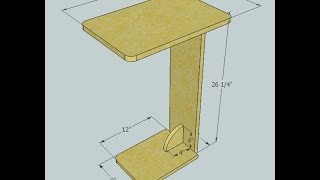 Sofa Table - Kreg jig project