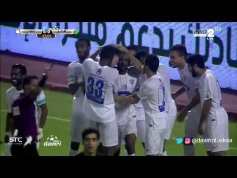 هدف الهلال السادس  ضد الخليج ( ليو يوناتيني ) في الجولة 6 من دوري جميل