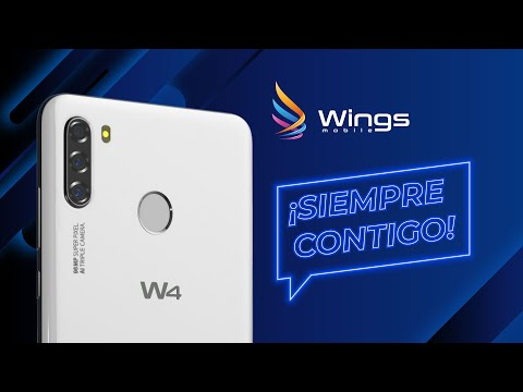 Smartphone W4 📲 ¡siempre contigo! - Wings Mobile 🔝