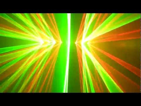 Z Lighting - 2 Quad Red + Green Lasers (HS)