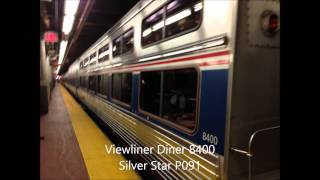 Railfanning New York-Penn Station feat. Viewliner Diner 8400(5-27-2014)