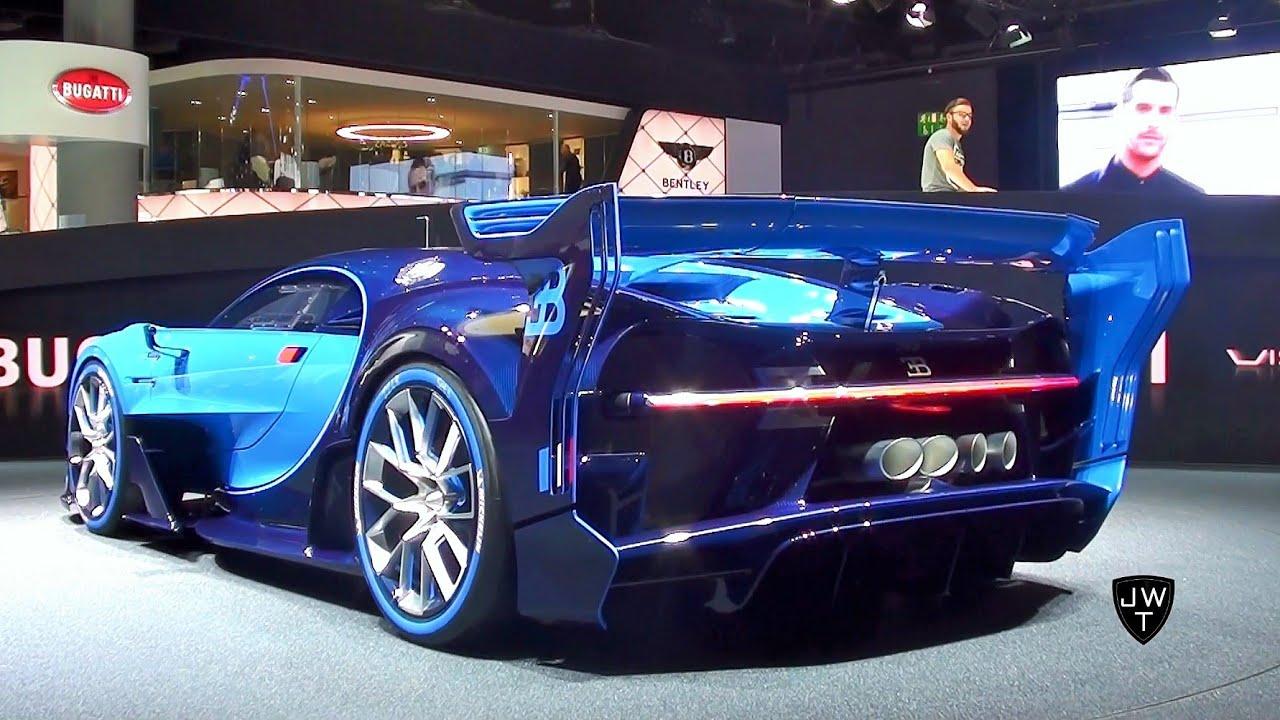 world debut: 2016 bugatti vision gran turismo concept - iaa
