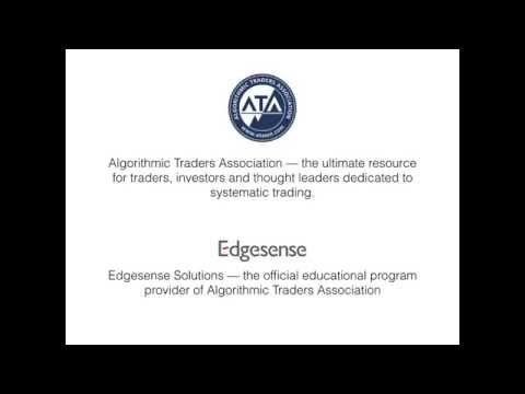 Systematic trading, algorithmic trading and the CAT® certification program